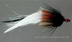 Bait Fish - White/Black
