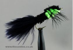 Green Montana - Marabou tail