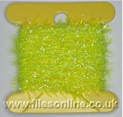 4mm UV Straggle Fritz - FL Yellow