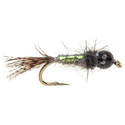 Tungsten Grayling Bug - Hares Ear and Pearl