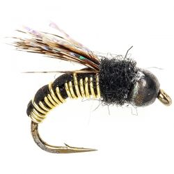 Wired Caddis Gold