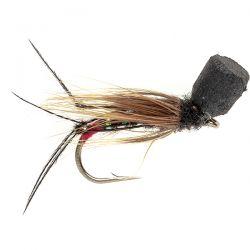 Popper Hopper - Black/Red Butt