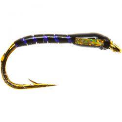 Epoxy Buzzer  - UV Rib, Gold Cheek, Black