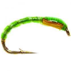 Epoxy Buzzer  - Green / Flex Rib