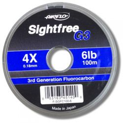 Airflo Sightfree G3 The UK's No1 selling fluorocarbon - 100m