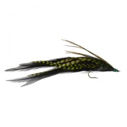 Green Grizzle Eel Streamer