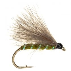 CDC F Fly-Olive - Pearl Rib