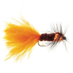 Orange Montana - Orange marabou tail