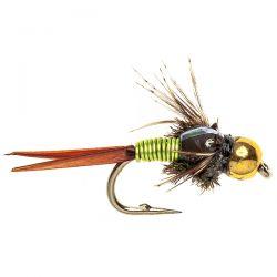 Goldhead Copper John - Chartreuse