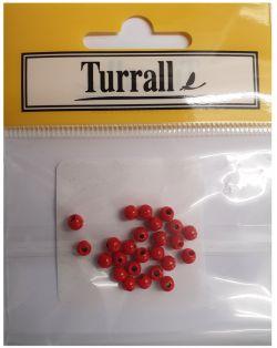 Dark Red beads