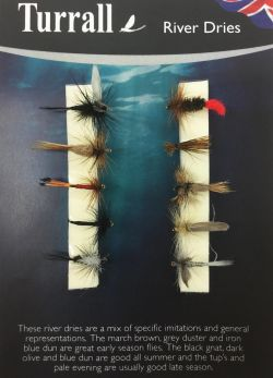 Turrall Fly Selection - River Dries