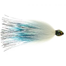 Pike Tube Fly - Blue/White